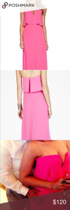 🌷BCBG Alyse Dress Gorgeous Hot Pink Alyse dress is a staple piece! This Gown will turn everybody's heads it's simply Classy and Beautiful!.. It's definitely a must have! BCBG Dresses Wedding