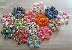 yo yos being used in hexagon design