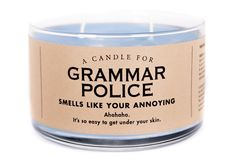A Candle for Grammar Police  - BEST SELLER