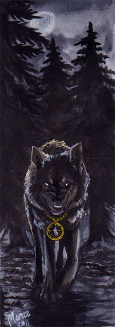 My aceo trade part for *realWolfshade. Petersburg watercolors, white acrylic and mechanical drawing pencil an. Mythological Creatures, Fantasy Creatures, Mythical Creatures, Wolf Love, Bad Wolf, Wolf Artwork, Werewolf Art, Fantasy Wolf, Wolf Stuff