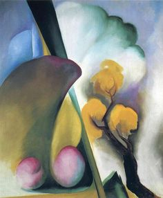 Purple Leaves - Georgia O'Keeffe - WikiArt.org