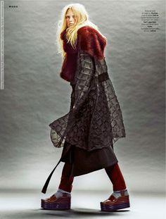 Ksenia Malanova for Stylist France (4th December 2014) by Billy Ballard  #BillyBallard #EmmaWilliams #FedericoGhezzi #KseniaMalanova #SebastianKaufmann #Stylist(France)