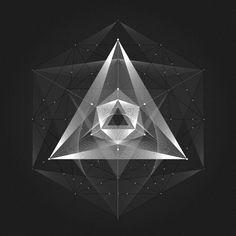 Geometric-spaces on Behance