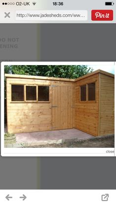 L shaped shed outdoor plans pinterest sheds shed for L shaped shed