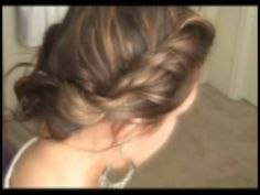 Bohemian Twist Braid tutorial.