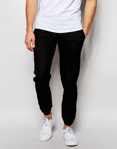 ASOS Slim Fit Trouser With Double Cuff