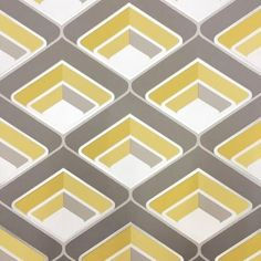GranDeco Wallpaper | Geo Yellow | A16001
