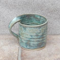 Coffee mug tea cup in stoneware hand thrown ceramic pottery                                                                                                                                                                                 More                                                                                                                                                                                 More
