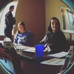 Our meetings are getting a little fishy.  #fisheye #picoftheday #clixfuel