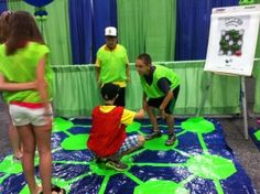 We had so much fun playing GIANT Hoppers at Destination ImagiNation Global Finals!