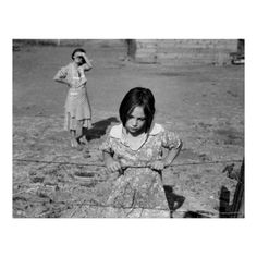 Child of the Great Depression - Washington, Yakima Valley, near Wapato. One of Chris Adolph's younger children. Farm Security Administration Rehabilitation clients, Photographed in August 1939 by Farm Security Administration documentary photographer Dorothea Lange. (https://twitter.com/HawCreekShop/status/526412221954666497) (http://haw-creek.com/shop/child-of-the-depression-1939/)