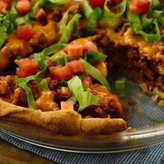 Easy Crescent Taco Bake Recipe - Key Ingredient