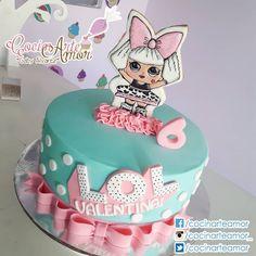 Doll Birthday Cake, Funny Birthday Cakes, Kylie Birthday, Frozen Birthday Party, 6th Birthday Parties, Rodjendanske Torte, Lol Doll Cake, Bolo Mickey, Surprise Cake