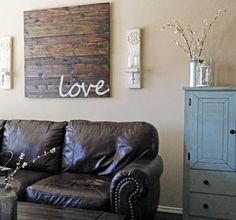 been wanting to do this for soooo long! want to get some old barn wood & treat & paint it to match the decor in my home