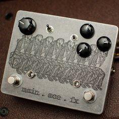 Main Ace Fx OZ-V3 Ortenzia Fuzz Pedal http://bananas.com/main-ace-fx-oz-v3-ortenzia-fuzz-pedal/dp/19703