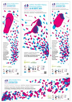 Animasyros 4.0 International Animation Festival & Forum by Sofia Androulidaki, via Behance