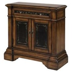 @Overstock - This hand-stained and painted walnut and black finish accent chest features functional drawer and door storage. The chest offers elegant antique brass finished hardware.http://www.overstock.com/Home-Garden/Hand-stained-Hand-painted-Walnut-Black-Accent-Chest/5660016/product.html?CID=214117 $442.99