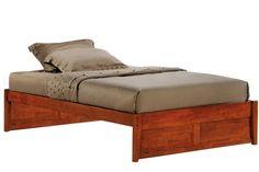 Poppy Platform Bed Frame Cherry K Series