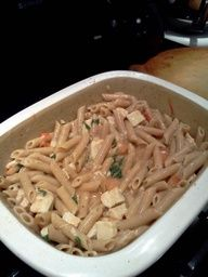 Pampered Chef recipe for Chicken Penne