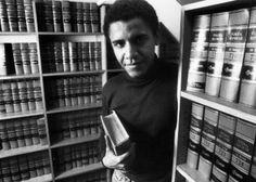 Barack Obama at Harvard Law School in 1990.