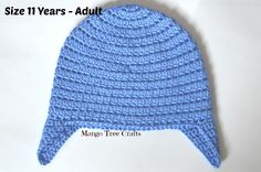 Basic Crochet Ear Flap Hat Pattern         Summer 2015 has been long and busy in my house. I welcome fall with a new design ...