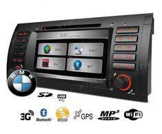 Autoradio para E53 / X5 con Gps Wifi y 3G Xtrons PX7139B