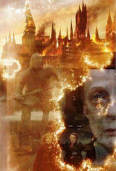 The Battle at Hogwarts