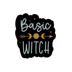 Basic Witch Sticker