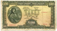 1928 Currency Commission of Ireland £100