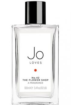 No. 42 The Flower Shop Jo Loves for women and men...  Top notes are green leaves, mandarin orange and peony; middle notes are lily-of-the-valley, freesia, jasmine and narcissus; base notes are iris, white musk, moss and patchouli. Perfume rating: 4.17 out of 5 with 13 votes. I REALLY REALLY want to find this perfume!