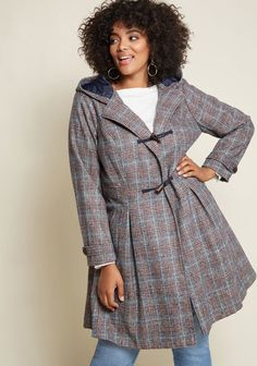 091074bae610f Plus Size Women s Winter Coats - Plus Size Swing Coats for Women