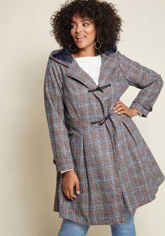 44b34214c70 Plus Size Women s Winter Coats - Plus Size Swing Coats for Women