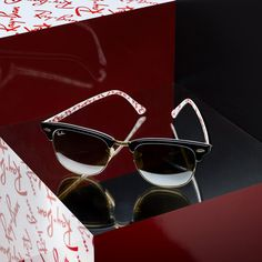 The new #Clubmaster is solid outside, surprisingly #RayBan inside.