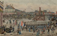 The execution of Robespierre on 28 July 1794 marked the end of the Reign of Terror. (wikipedia)