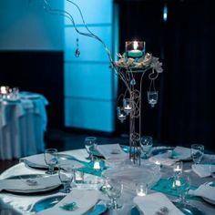 tiffany blue wedding reception