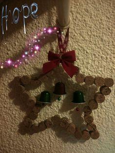 #star #cork #nespresso #christmas #diy