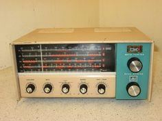 Vintage HEATHKIT HAM Short Wave Tubed Radio Model GR-91