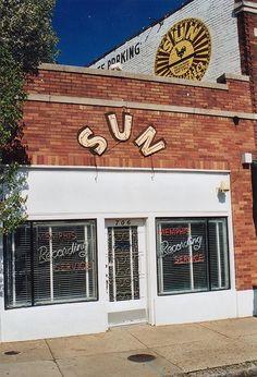 Sun Studios, Memphis Tennessee