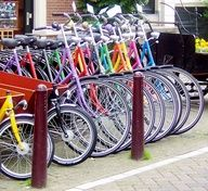 Multi Color Bikes powder coated purple, red, green, yellow, pink, yellow