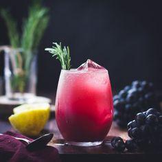 Zinfandel Grape, Rosemary + Gin Crush
