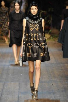 Dolce & Gabbana | Fall 2014 Ready-to-Wear Collection | Style.com | #mfw