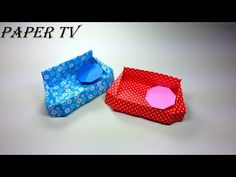 [Paper TV] Origami Sofa 소파(쇼파) 종이접기 折り紙 ソファ como hacer un sofá de papel sofá de papel - YouTube