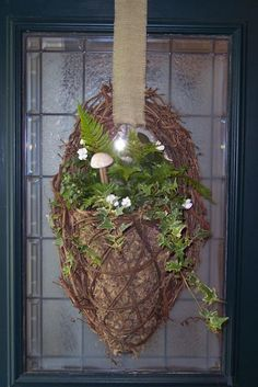 I've been bored with my door decor as of late and having trouble getting inspired. I went out shopping several times and came home empty handed. The other day I was at a local nursery and this wreath caught my eye… The basket is made out of sturdy sticks and it is all contained inContinue Reading