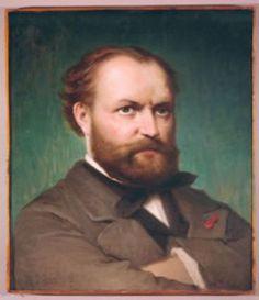 Charles Gounod (1818-1893), painting (1875), by Federico Maldarelli (1826-1893).