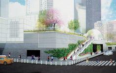 World Trade Center – Liberty Park Green Wall