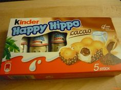 No. 180 | víziló | hippo | doboz | box | Kinder Happy Hippo Ital Food, Snack Recipes, Snacks, Pop Tarts, Packaging, Drinks, Box, Happy, Collection