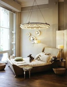 ocre arctic pear chandelier love