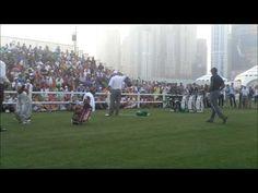 Tiger Woods and Mark o Meara Clinic at the 25th Omega Dubai Desert Classic - YouTube
