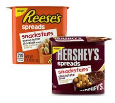 Free Reese's or Hershey's Spreads Snacksters