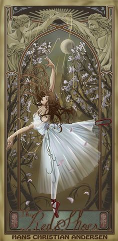 The Red Shoes by ~tkrloe on deviantART